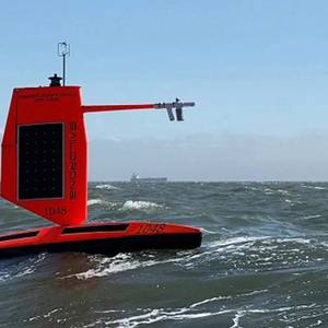 World First: Saildrone Captures Video from inside a Cat 4 Hurricane