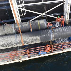 Nord Stream 2 Pipeline Construction Nears Completion