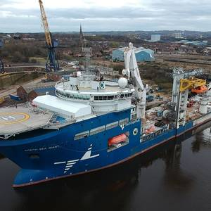 MacGregor to Install Predictive Maintenance Solution on North Sea Giant Vessel