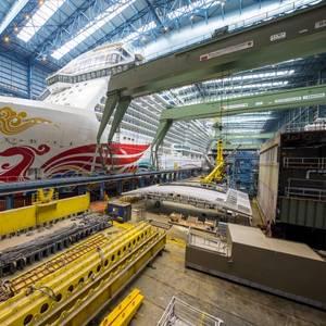 Meyer Werft Plans Norwegian Joy Float-out