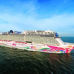Norwegian Joy Delivered for NCL