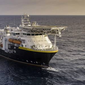 Support Vessel Delivered to Oceaneering