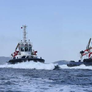 Sanmar Delivers Tug Pair to Scotland