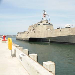 US Navy Accepts Delivery of Future USS Montgomery