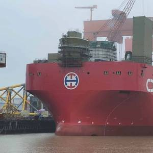 Specialist Offshore Wind Installation Ship Launched in China