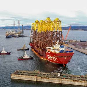 Moray East Offshore Wind Farm Jacket Transport Completed