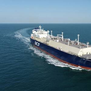 New LNG Carrier Delivered to Sovcomflot