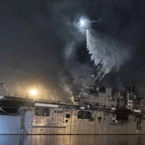Fire-stricken Warship USS Bonhomme Richard to Be Scrapped