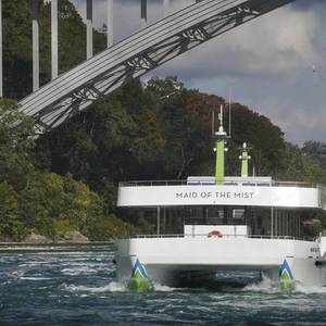 New All-electric Niagara Falls Tour Ferries Enter Service