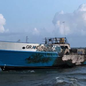 Four Rescued from Passenger Vessel Blaze