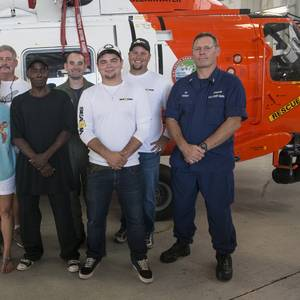 Five Mariners Reunite With Their Rescuers