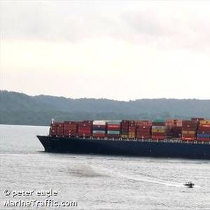 Containership Runs Aground Near New Orleans