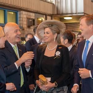 Dutch Royal Couple Visits MV WERFTEN