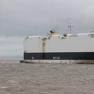 Car Carrier Rescues Sailors in Stormy Seas