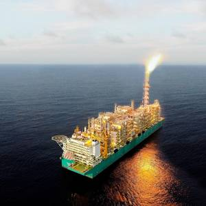 Petronas' Floating LNG Facility PFLNG Dua Produces First LNG
