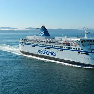 BC Ferries' Spirit of British Columbia Converted to LNG