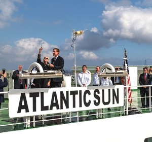ACL Christens Its New Vessel Atlantic Sun