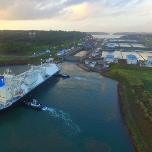 6,000th Neopanamax Transit at Panama Canal