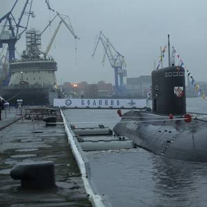 Six New Submarines Built for the Russian Navy