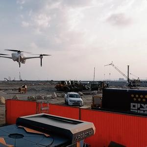 Video: Autonomous Drones Aid Port Construction