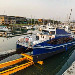 US' First 100% Hydrogen Fuel Cell Powered Commercial Vessel Launched