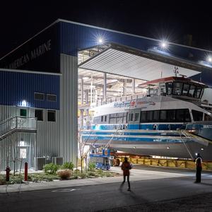 Kitsap Transit's Hybrid-Electric Water Taxi