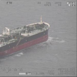 Tanker Rescues Two Clinging to Boat Debris in Torres Strait