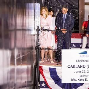 Austal Christens USS Oakland