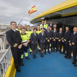 Austal Delivers Fast Ferry Bajamar Express to Fred. Olsen Express