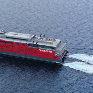 Austal Philippines Delivers New Ferry to Fjord Line