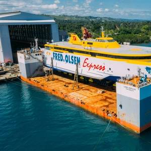 Austal Philippines Launches Ferry for Fred. Olsen Express