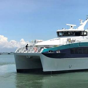 Austal Vietnam Delivers New Ferry to Mauritius