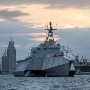 Austal USA Delivers the Future USS Mobile