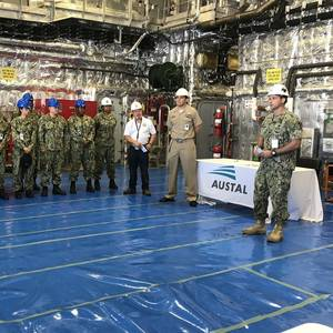 Austal USA Delivers Third LCS of 2018