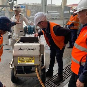 Aussie Pump Provides Operator Training at Garden Island Dockyard