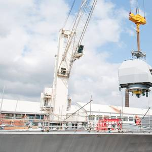 HMS Westminster Undergoes Extensive Refit