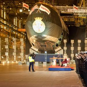Fourth Submarine in UK's Astute Class Named