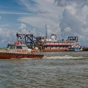 Mississippi River Ship Channel Deepening Begins