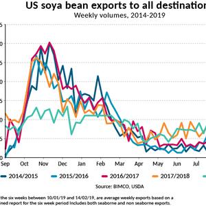 BIMCO: US Soya Bean Exports - Up or Down?
