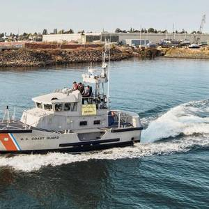 USCG Takes Delivery of First Upgraded 47' Motor Lifeboat