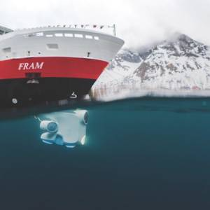 Hurtigruten Brings Underwater Drones to Exploration Cruising