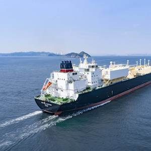 First of Six New LNG Carriers Delivered to BP