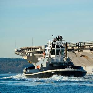 US Navy Orders Four New Tugs
