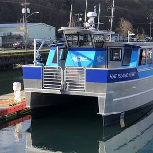 Brix Marine Delivers Hat Island Ferry