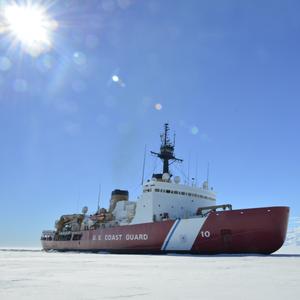 Coast Guard's Only Heavy Icebreaker Arrives at Antarctica