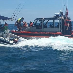 CG Station Cortez Assists Vessel, Rescues 3