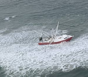 Unified Command Established for Grounded F/V