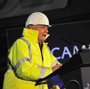 Sir David Attenborough Lays Keel for New Polar Research Ship