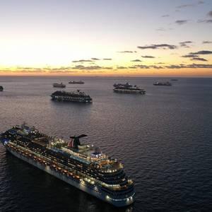 Carnival Cruise Ships Rendezvous to Repatriate Crew Members