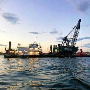 Boston Harbor Phase II Dredging Wraps Up Ahead of Schedule